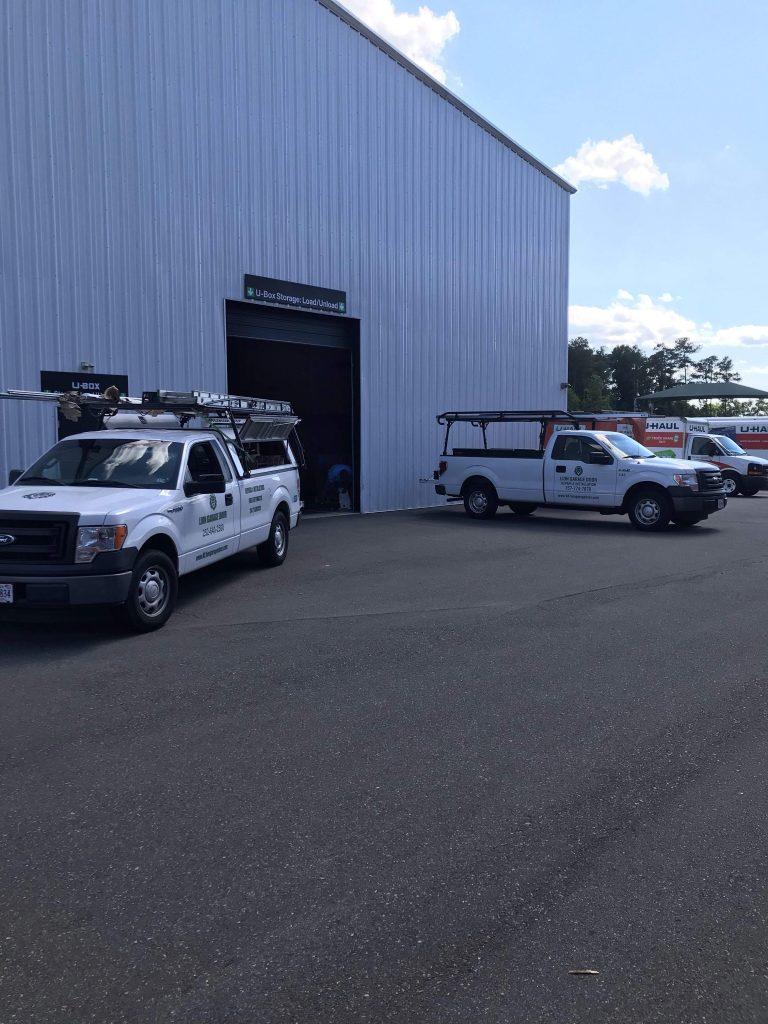 Commercial 1 Uhaul Lion Garage Door Raleigh